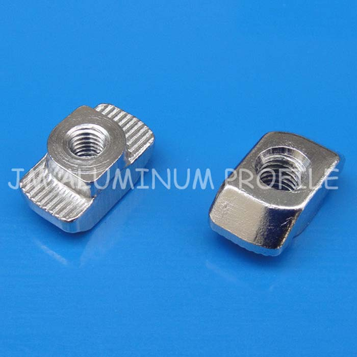 JM T Nut Hammer Head Nut,  40x40 45x45 Slot 10mm
